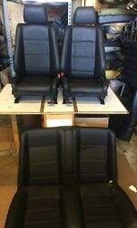 Bmw E30 325/318 New Leather Black Or Tan Convertible Set 1982-91 2900.00