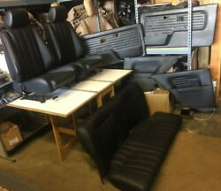 Bmw E30 325/318 New Black Is And I Seats Set And Oem Door Cards 1982-912900.00
