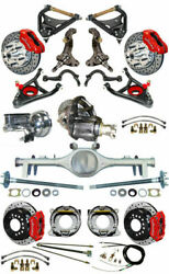 Wilwood New Suspension & Brake Set with SpindlesArmsCurrie Rear EndPosi68726