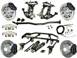 Wilwood Coilover & 4-link System & Wilwood Disc Brake Kit12