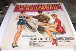 Abbott And Costello In Hollywood Six Sheet Movie Poster 1945 Hollywood Posters