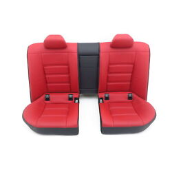 Seat Bench Mercedes 218 Cls 63 Amg 987 Equipment Designo - Red