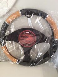 Allison Steering Wheel Cover Grip. Fits Most Cars And Pick-ups. Brand New.