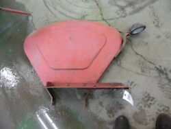 Massey-harris 33/44 Tractor Right And Left Fender Floor Plates Tag 183 And 153