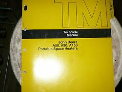 John Deere Technical Manual For Jd A50,a90,a150 Portable Space Heaters Tm-1077
