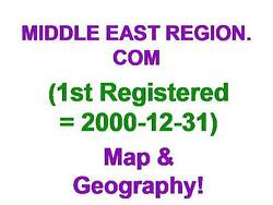 Middle East Region.com Exp 1-2016 Geography Map Area 3 Words 10 Year Domain Name
