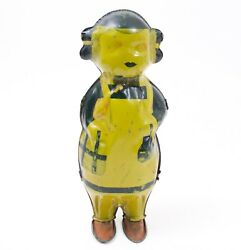 """Betty Shako Walker Wind-up Litho 1930s Toy Lindstrom 8"""" Length"""