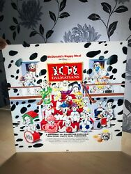 Bundle Of 13 Vintage Mcdonald's Happy Meal Display Signs Lenticular Collectable
