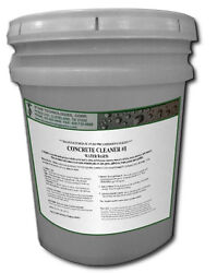 Concentrated Concrete Cleaner 1 For Concrete Brick Stone And Pavers 5 Gallons