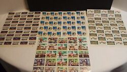 Boys Town - Easter Seals - 50and039s And 60and039s - Vintage Sheet Stamps