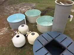 Fishery Tanks & Filters Aquaponic Hydroponic Grow Systems Salmon Tilapia