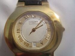 Chaumet- Paris ,ladies 18k Gold Automaticrarewatch With Date Swiss Made