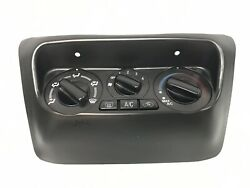 02-07 Mitsubishi Lancer Double Din Radio A/C Heater Climate Control w/Knobs OEM