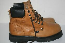 Hunter Men's Steel Toe Boots Leather Size 6