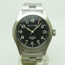 Glycine 3806 Including Soret Automatic Wrist Watch Rare From Japan Used