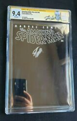 Marvel Amazing Spider-man 36 Vol 2 Cgc Ss 9.4 9/11 Story Signed By Stan Lee