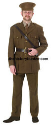 Ww2 British Army Officers Service Dress Uniform - Made To Order