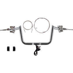 1 1/4 Chrome 10 Hefty Prime Apes Cmpt Kit 2015 And Up Harley Road Glide Ultra