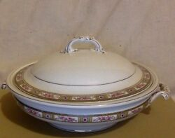 Vintage Covered Vegetable Bowl. Fine China Johnson Brothers. England. 1 Defect