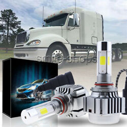LED Headlight Bulb Conversion Kit For Freightliner Columbia 1996-2013 LOW BEAM