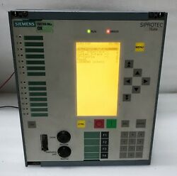 Siemens 7sj64 Siprotec 7sj6411-5eb92-1fe4/ee Overcurrent Protection And Control L2