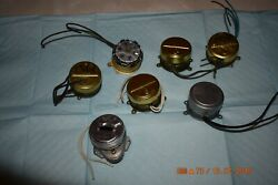 Synchron Electrical Wall Clock Movements Lot Of 7 For Project