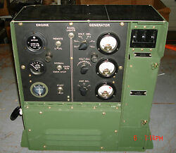 Mep-017a, 5 Kw - Military Genset Control Panel Assy, P/n 13211e6875