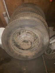 4 -1929 Ford Spoked Wheels