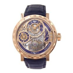 DeWitt Academia Grand Tourbillon 18k Rose Gold Mechanical Men's Watch AC.GT.003
