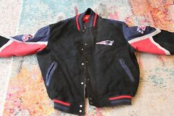 New England Patriots Suede Jacket New With Tags