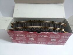 """12 Piece Lot Lgb 1100 11000 G Scale 300mm / 12"""" Curved Brass Track"""