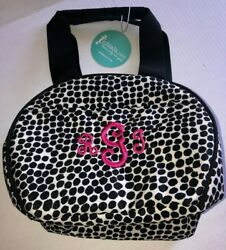 New Initials Inc. Insulated Lunch Lady Dalmatian Tote Cooler Thermal