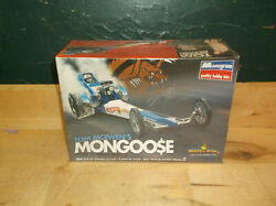 Revell Monogram 1/24 Tom Mcewenand039s Mongoose Dragster - Autographed - Sealed