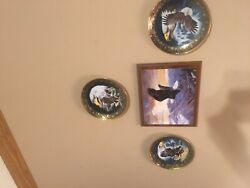 The Franklin Mint Royal Doulton Profile Of Freedom Eagle Collectors Plate Great
