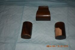 Ridgeway Grandfather Clock Wood Top Parts For Cabinet For Project