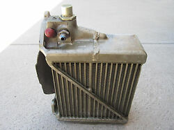 Continental Tsio-520 Oil Cooler And Baffle Assembly P/n 637132 P/n 636900