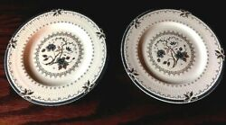 Royal Doulton Old Colony Bread And Butter Plates Lot Of 2