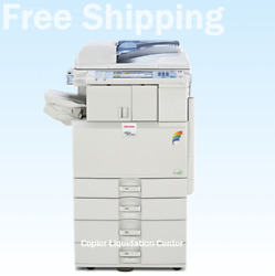Ricoh Mpc2551 Color Copier Print And Scan Finisher.l - 25 Ppm Low Meter