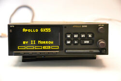 Apollo Garmin II Morrow GX55 GPS - Screen in excellent condition