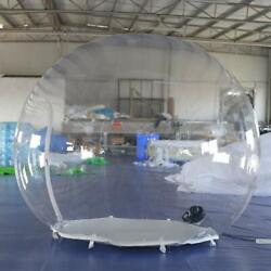 Inflatable Bubble Igloo Tent Transparent Dome With Blower For Advertising Event
