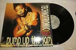 Technotronic Feat.felly Pump Up The Jam 1989 Lpvg 12