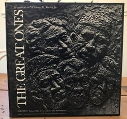 1971 THE GREAT ONES Volume II 3 LPs Famous Black Americans Vinyl Records 12