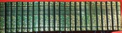 Nathaniel Hawthorne Complete Works Full Leather 23 Volumes-price Reduction