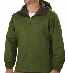 The North Face Men's Quest Rain Jacket Scallion Green Heather Large NWT