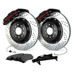 For Pontiac G8 08-09 Baer Extreme Plus Drilled And Slotted Front Brake System