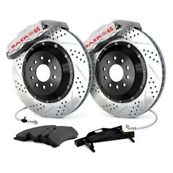 For Pontiac G8 08-09 Baer Extreme Plus Drilled And Slotted Rear Brake System