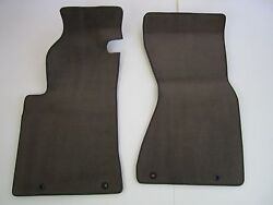2001 2002 Audi A8 S8 Front Main Carpet Floor Mats Rugs Liners Used Brown
