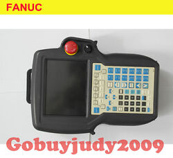 1pc Used Fanuc Teach Pendant A05b-2490-c371 Tested In Good Condition