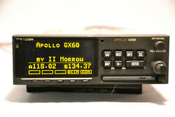 Apollo Garmin II Morrow GX60 GPSCOMM - Screen in excellent condition