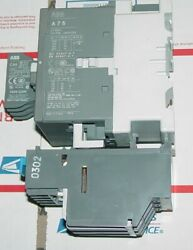 Abb Contacter A75-30 125 Amp 600v With 120v Coil And Relay Base Ta75du